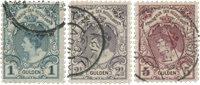 Nederland 1899-1905 - Nr. 77-79 - Gebruikt