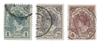 Holland 1899-1905 - NVPH 77-79 - Stemplet