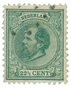 Holland 1872-1888 - NVPH 25 - Stemplet