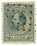 Holland 1872-1888 - NVPH 28 - Stemplet