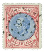 Pays-Bas - Roi Willem III 1872-1888, NVPH 29, obl.