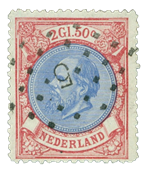 Holland 1872-1888 - NVPH 29 - Stemplet