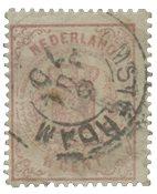 Pays-Bas - Armoiries 1869-1871, NVPH 16, obl.
