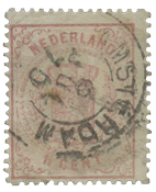 Holland 1869-1871 - NVPH 16 - Stemplet