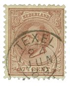 Pays-Bas - Roi Willem III 1872-1888, NVPH 20, obl.