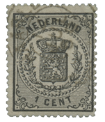 Holland 1869-1871 - NVPH 14 - Stemplet