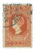 Holland 1913 - NVPH 101 - Stemplet