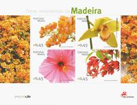 Madère - Belles fleurs - Série de blocs-feuillets neufs