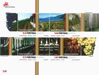 Madeira - Wine production - Mint souvenir sheet
