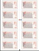 Danemark - Ecritures manuscrites d'Islande - Bande neuve 10v