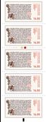 Danemark - Ecritures manuscrites d'Islande - Bande neuve 5v