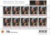 Holland - Jan Vermeer maleri - Flot postfrisk ark