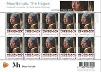 Pays Bas - Tableau Jan Vermeer - Beau feuillet neuf
