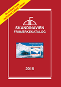 AFA - Scandinavia 2015 - Stamp catalogue