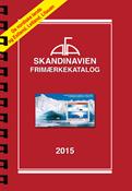 AFA Skandinavien frimærkekatalog 2015 med spiralryg