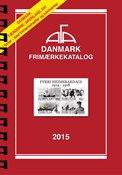 AFA Danmark frimærkekatalog 2015 med spiralryg