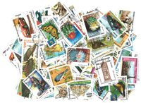 柬埔寨 - 200枚不同的盖销票