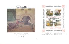 Danmark - Hafnia 87 miniark II førstedagskuvert