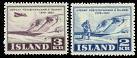 1951 ISLANTI - Posti, AFA 274-75