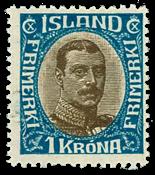 Island 1920 - AFA nr. 96 - ubrugt