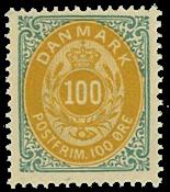 Danmark - 1875 - AFA nr. 31 - ubrugt