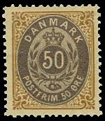 Danmark - 1875 - AFA nr. 30y - ubrugt