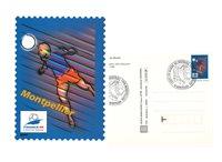 France - Entier postal officiel Coupe du Monde defootball - 10 pcs - Entier postal