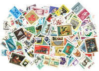 Hungary commems - Stamp packet - 300 diff.