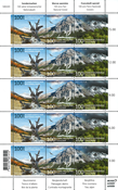 Switzerland - National Parc - Set of mint sheetlets