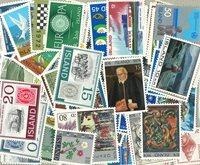 新邮 冰岛新票159枚不同 真品收藏