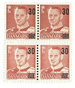 Danemark - 1955 - Paires se-tenant provisoires