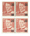 Danmark 1955 - Provisorie Parstykker - Postfrisk