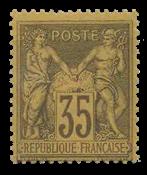 France 1876 - YT 93 - Neuf avec charnière