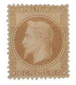 France 1863 - YT 28A - Neuf avec charnière