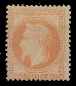 France 1863 - YT 31A - Neuf avec charnière