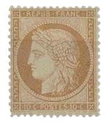 France - YT 36 - Neuf avec charnière