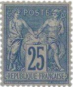 France - YT 79 - Neuf avec charnière