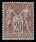France 1876 - YT 67 - Neuf avec charnière