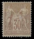 France 1876 - YT 69 - Neuf avec charnière