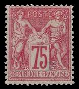 France 1876 - YT 71 - Neuf avec charnière