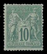 France 1876 - YT 76 - Neuf avec charnière