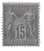 France - YT 77 - Neuf avec charnière