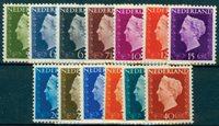 Holland 1947 Holl.Wilhelmina sæt474-86