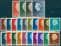 Holland 1953-67Holl Juliana sæt 617-40