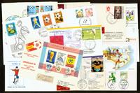 Rare football envelopes 17 items