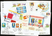 Rare football envelopes 15 pcs.