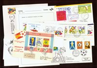 Football - 11 rare envelopes