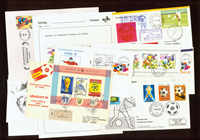 Enveloppes football rares 11 pcs