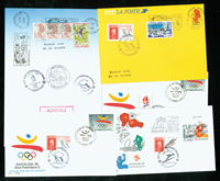 Frankrig 5 kuverter