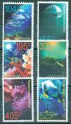 Nederlandske Antiller - Livet under havoverfladen - Postfrisk sæt 6v
